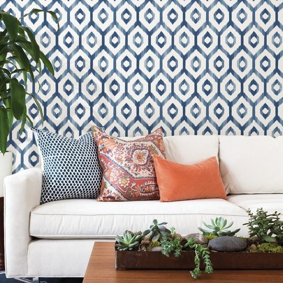 Wallpaper is back! I'll show you how to use it on accent walls and small projects to make a big impact in your home! The best part? Most of these are removable wallpaper!