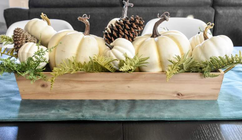 Make a Super-Easy Pumpkin Centerpiece!