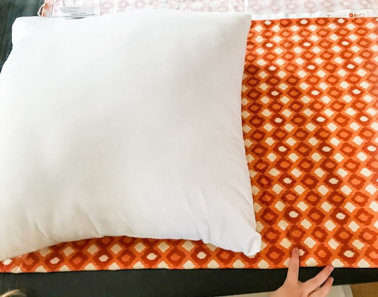photo of fabric for DIY throw pillow covers