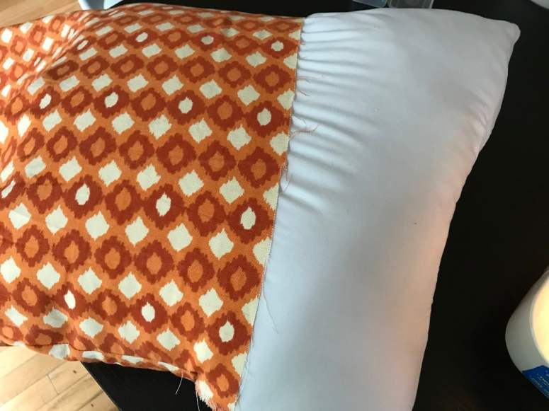 photo of DIY throw pillow cover