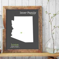 state-home-map-realtor-closing-gift