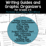 Writing Guides and Graphic Organizers for Writer's Workshop