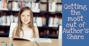 How to get the most out of Author's Share