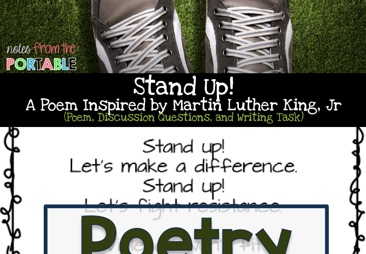 Stand Up!  – A Poem for Black History Month