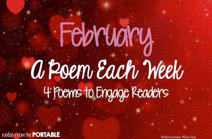 February A Poem Each Week