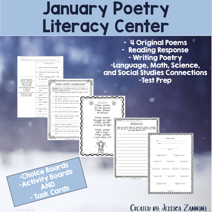 January Poetry Literacy Center.
