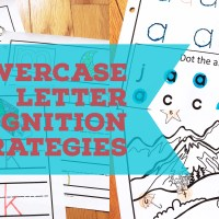 Lowercase Letter Recognition: For Preschool and Beginning Readers