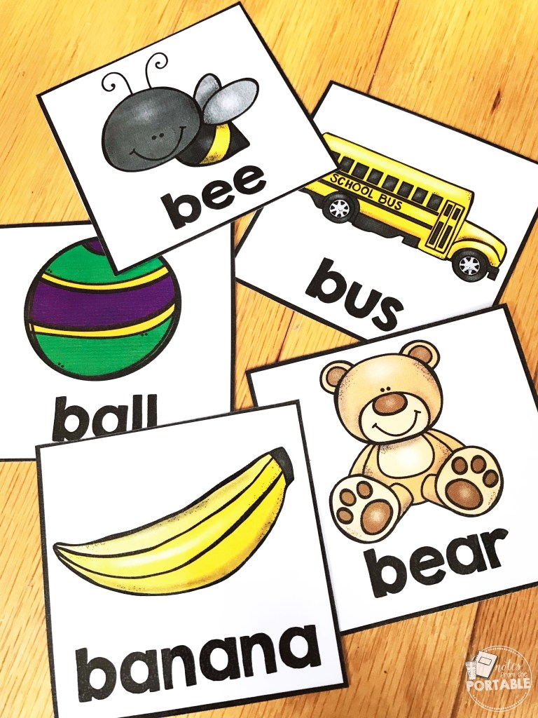 What a fun letter recongition activity for my preschool class. I loved seeing them gain letter recognition and being able to do the activity independently