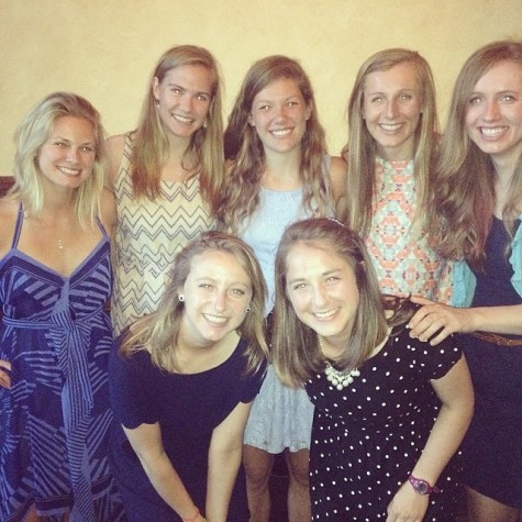 And of course seeing all my SAHS teammates again was a blast! (photo from Kristen)