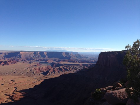 The east rim of Dead Horse Point