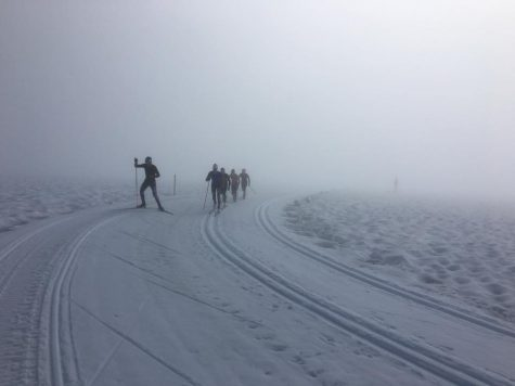 ...and not every day is amazing! Fog during intervals (photo from Zuzana)