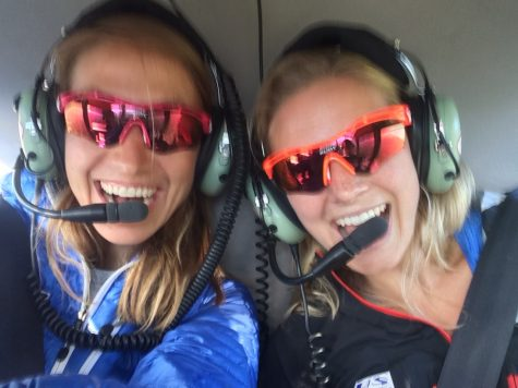 Soph and I excited for a ride up the glacier! This NEVER gets old. (photo from Sophie)