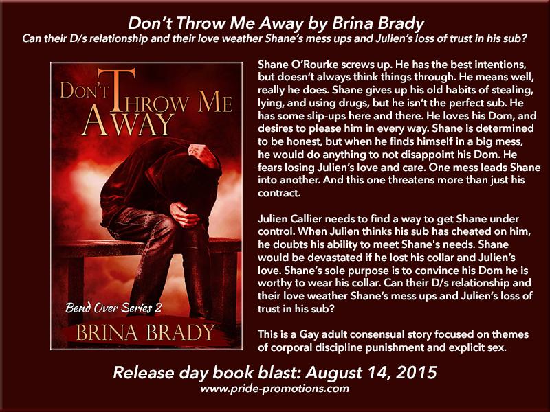 story Brady bdsm