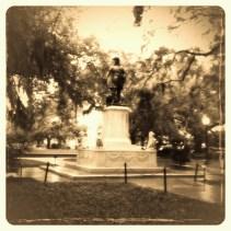 Savannah, Georgia Statue