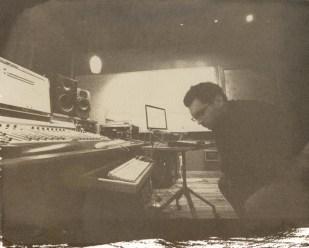 russell listening | jimmy's studio| salt print 2012 | image 2010