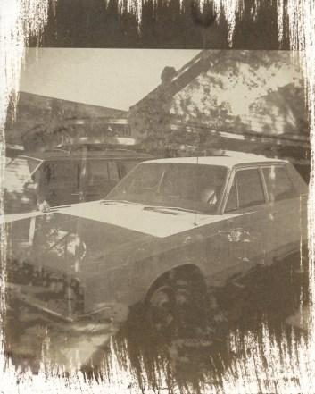 never home, on the road | salt print 2012 | image 2010