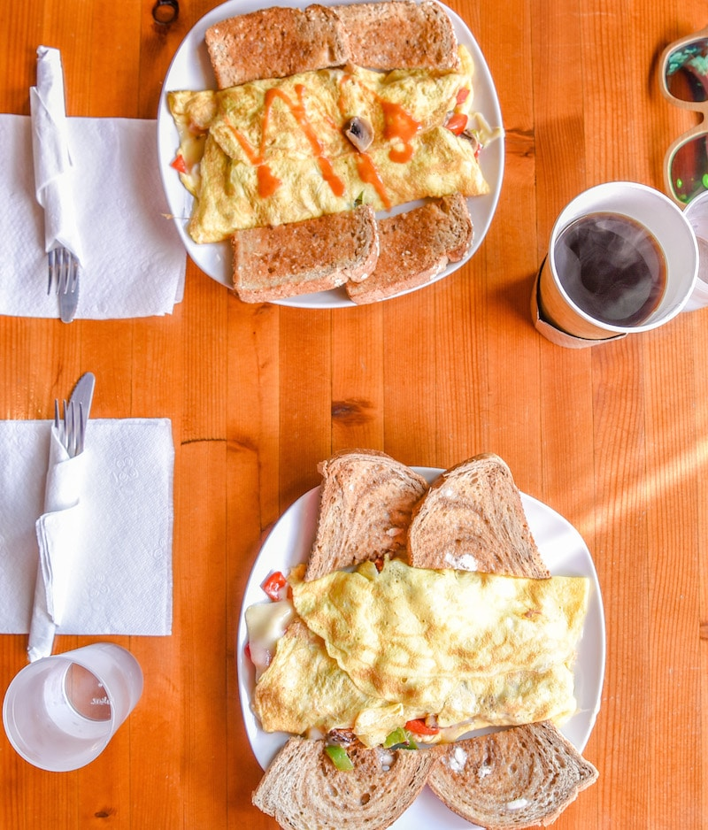 things to do in dutchess county - breakfast omelette