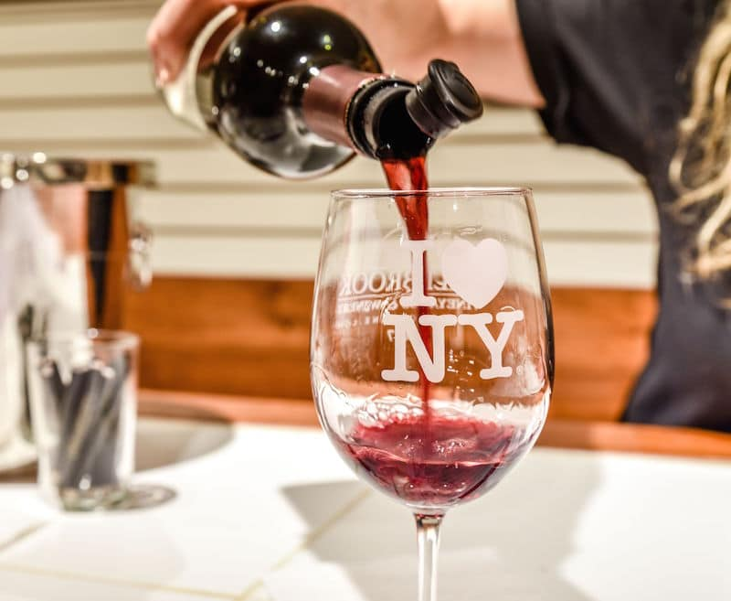 things to do in dutchess county wine tasting at Millbrook Vineyards