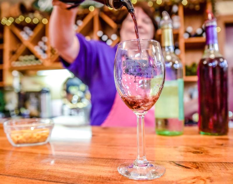 myrtle beach activities wine