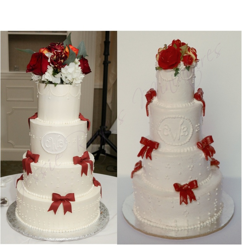 Jessie Raye s Miniatures   Wedding Cake Replicas