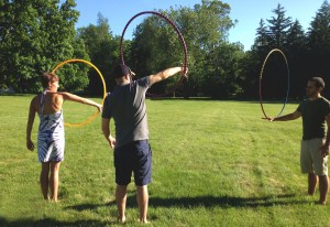 Hoop Dance Lessons. Photo By: Rachel Meyer