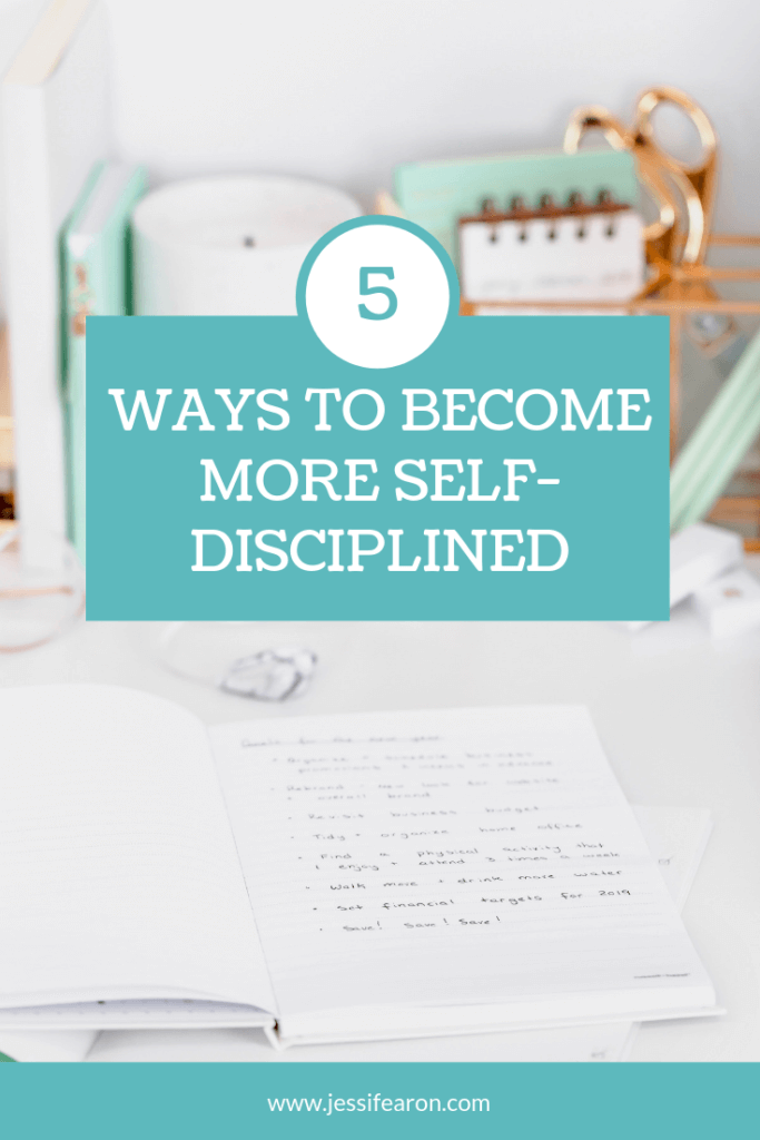 Wondering How To Become Self Disciplined So You Can Achieve Your Big Goals Here