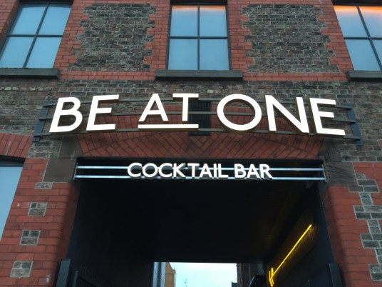 Be At One Cocktail Bar. Bar Launch. City Life. Cocktail Time. Be At One. Liverpool Blogger.