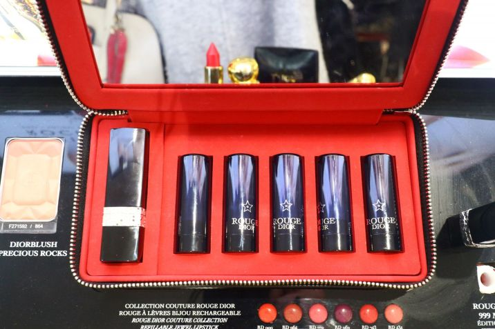 Dior Lipstick Set. Christmas gifts. Luxury Makeup. Beauty Blogger.