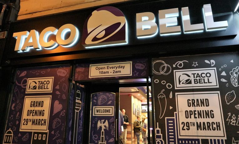 Taco Bell Liverpool. Taco Bell UK. Fast Food. City Life Blog. Lifestyle Blogger UK.