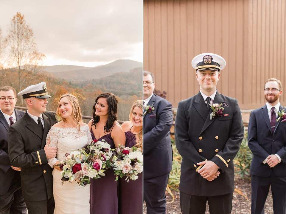 the crest center and pavilion wedding asheville