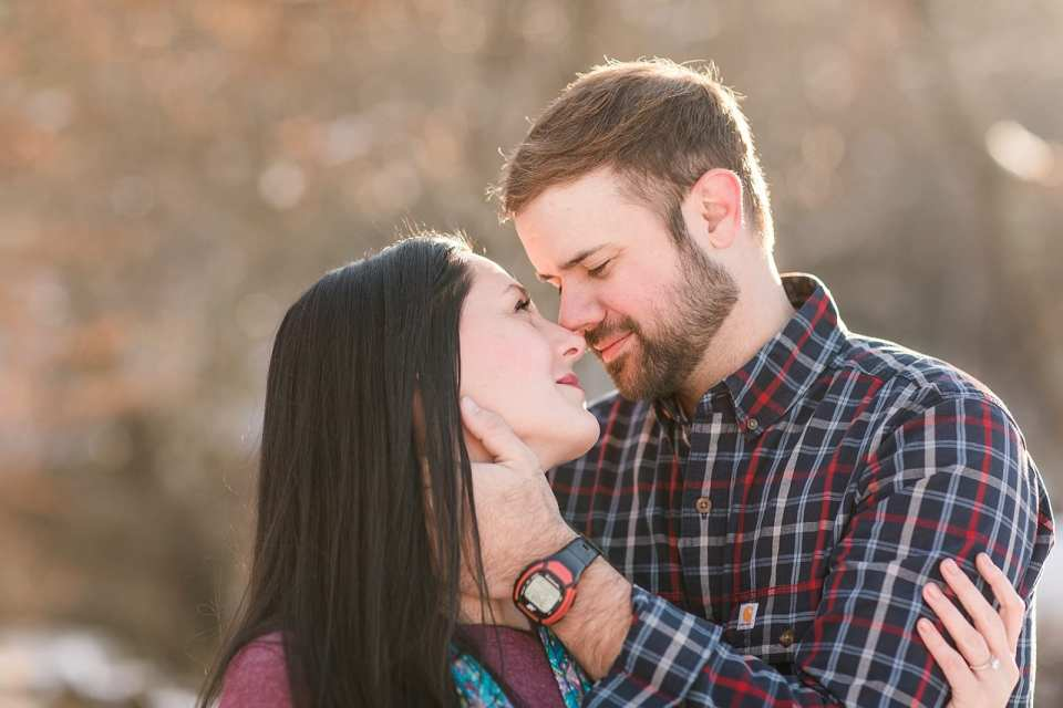 lunas trail engagement wedding