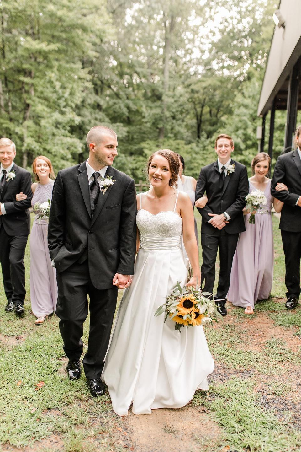 Victory Mountain Camp Wedding Sophia North Carolina Wedding