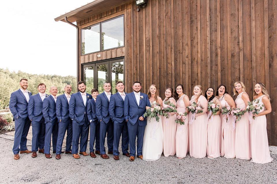 Luna's Trail Farm Wedding in Westfield, NC