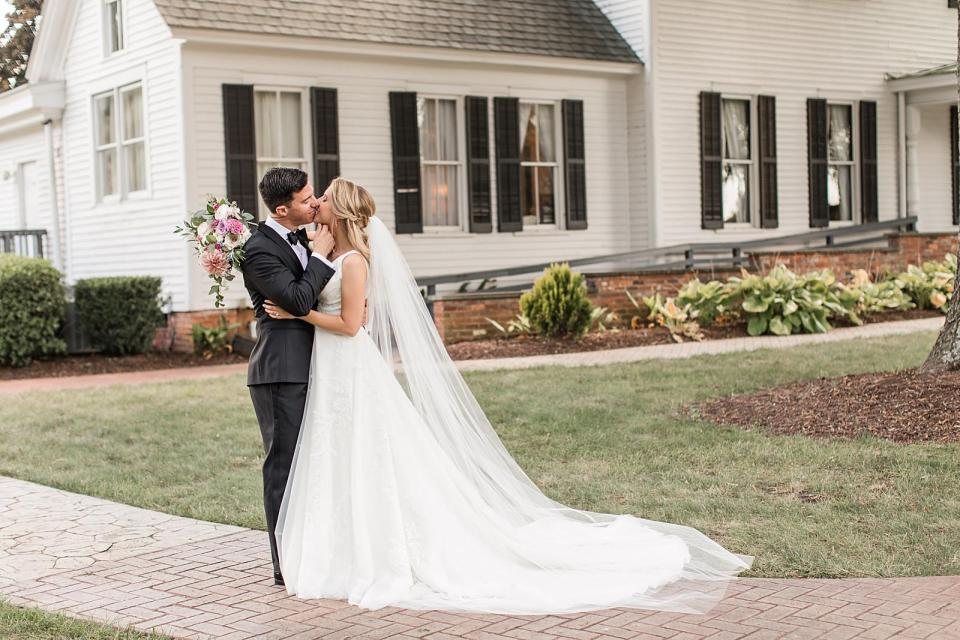 Brawley Estate Wedding Mooresville North Carolina