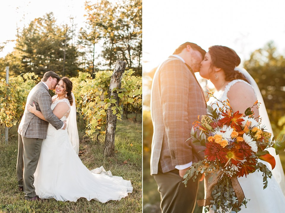 Roaring River Vineyards Wedding Traphill, NC