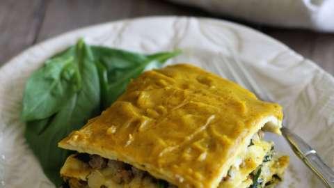 Creamy Butternut Squash Lasagna