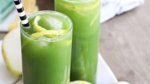 Festive Green Spritzer