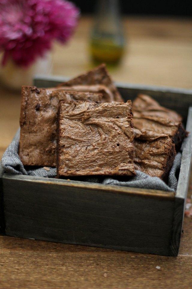 Olive Oil and Sea Salt Brownie: Jessi's Kitchen