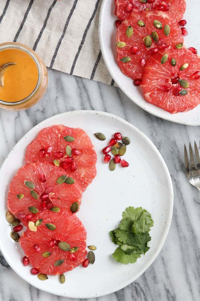 Winter Grapefruit Salad: Jessi's Kitchen