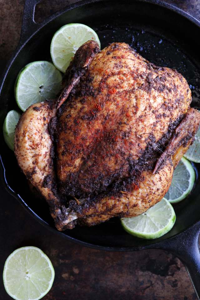 Chile Lime Roasted Chicken: Jessi's Kitchen