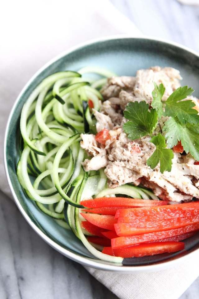 Greek Vinaigrette Chicken Salad: Jessi's Kitchen