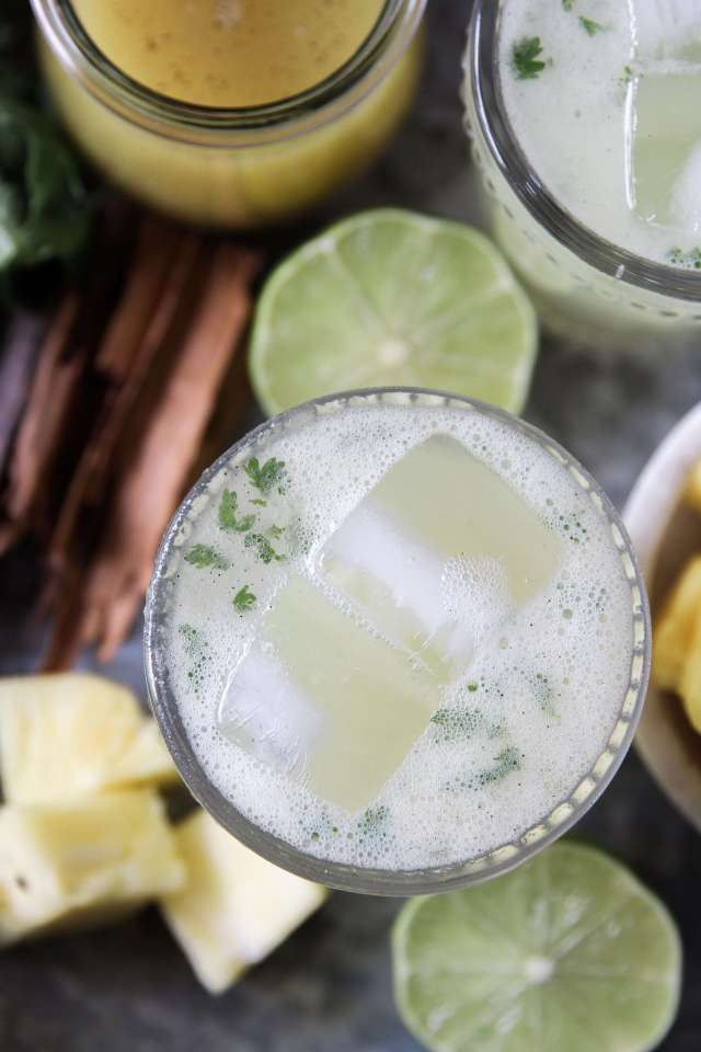 Spiced Pineapple and Cilantro Margaritas: Jessi's Kitchen