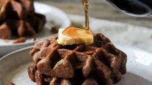 Gluten-free Zucchini Bread Waffles