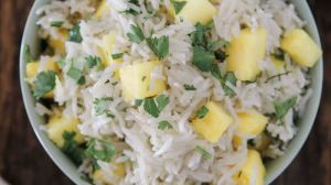 Pineapple Coconut Rice