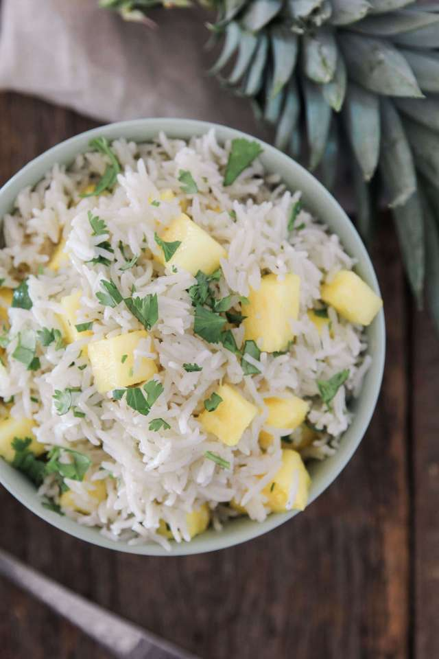 Pineapple Coconut Rice: Jessi's Kitchen