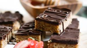 "Paleo ""Peanut Butter"" Protein Bars"