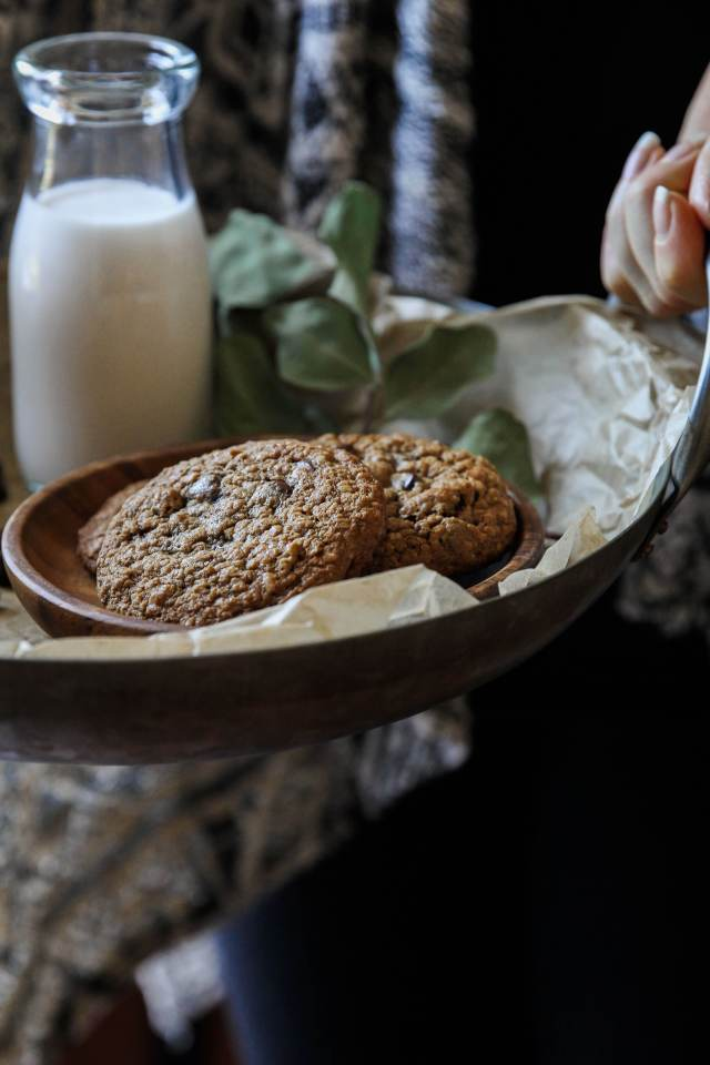 Gluten-free Chocolate Chip Oatmeal Cookies: Jessi's Kitchen