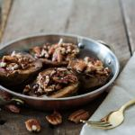Roasted Pears with Pecans and Date Balsamic
