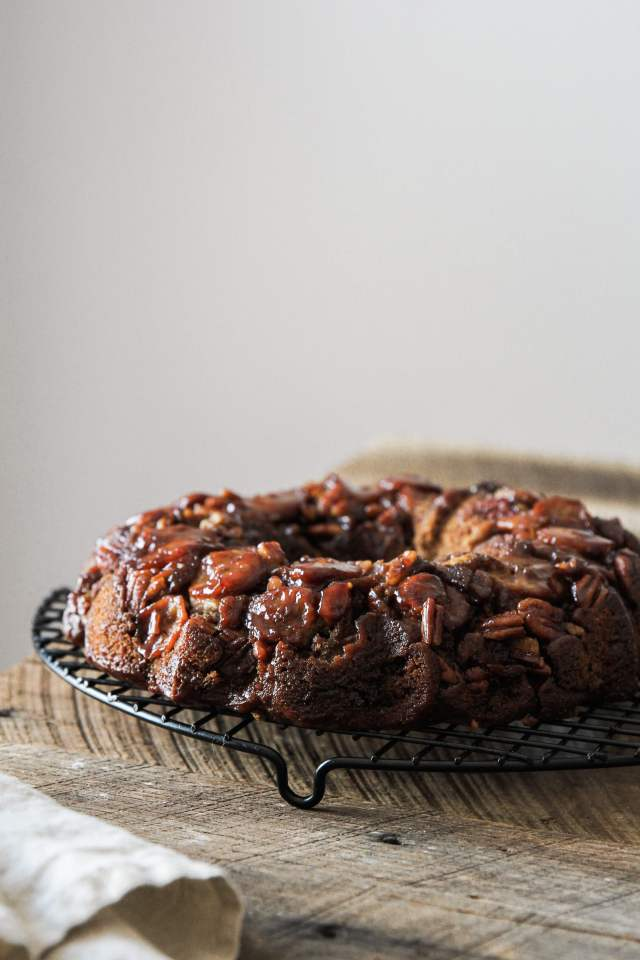 Gluten-free Caramelized Banana Coffee Cake: Jessi's Kitchen