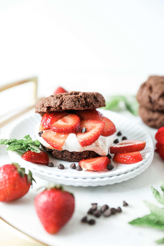 Grain-free, Vegan Chocolate Strawberry Shortcake - Jessi's ...